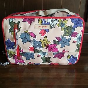 Vera Bradley Large Blush and Brush Case Lighten Up